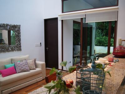 Photo for Peaceful Town Home, golf & well being, Akumal