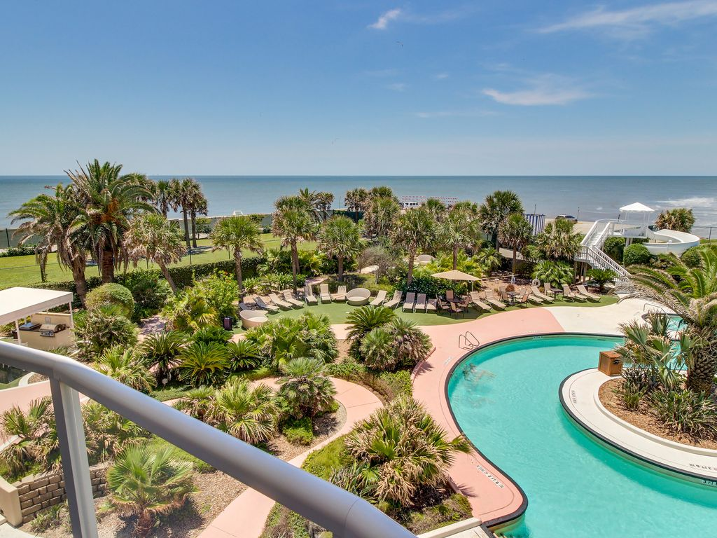 Diamond Beach Resort oceanfront condo w shared pool hot