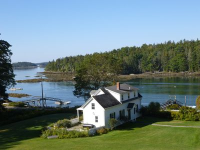 Photo for Beautiful Boothbay Harbor Waterfront Cottage with private dock