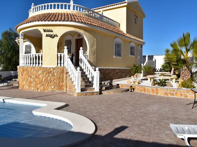 Photo for Stunning Villa Alicja for a relaxing holiday in Murcia, Camposol