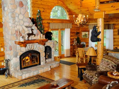 Photo for This Modern Cabin Is Perfect For Large Groups or A Couple's Retreat, Sleeps 12+