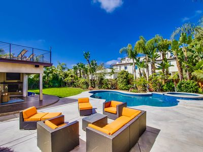 Photo for 5 Minutes to the Beach! Private Oasis w/88 Degree Pool!