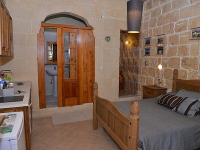 Photo for Rustic Suite, located on the first floor with private bathroom and full kitchen.
