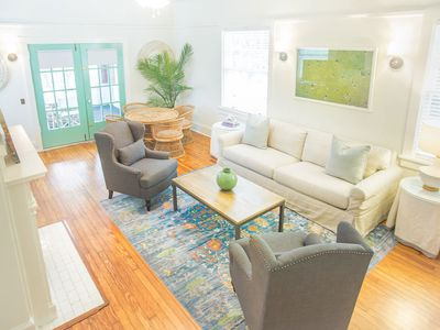 Photo for Stay with Lucky Savannah: Beautiful home w/ parking, sun porch, King beds!