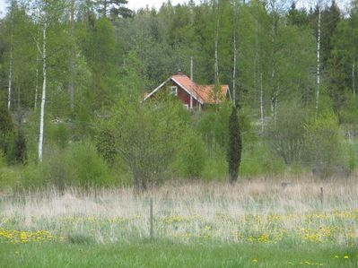 Welcome to Älgdalen in southern Småland.  Rents out weekly, year around.