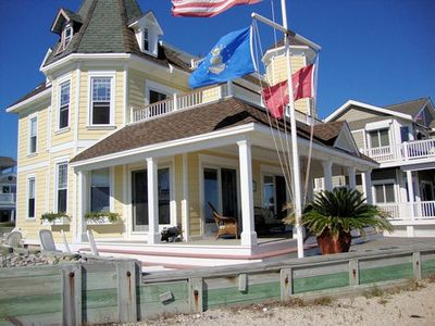 Photo for Enjoy this 1900's updated Victorian home with unobstructed inlet and ocean views