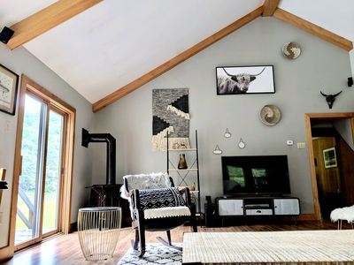 Photo for Secluded Riverfront Cabin Oasis/PSU football/Elk viewing