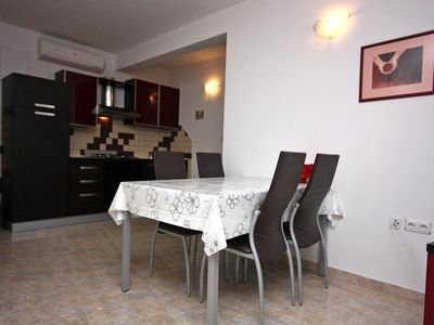 Photo for One bedroom apartment with air-conditioning Trogir (A-4814-d)