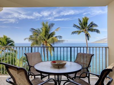 Photo for Beautiful Remodeled Beach Front 2 Bd. Unit-Starts @ $379/nt - Royal Mauian #614