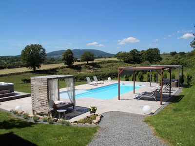 Photo for Luxury holiday house with heated private pool & jacuzzi