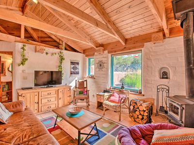 Photo for Eclectic Adobe Crestone Cottage w/Patio+Yard!