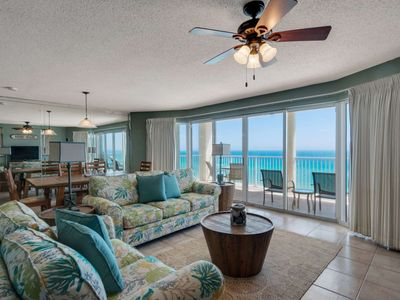 Photo for 3 Bdrms all with amazing Gulf Views. Great Location Wifi and Tickets to GulfWorld! Long Beach Resort