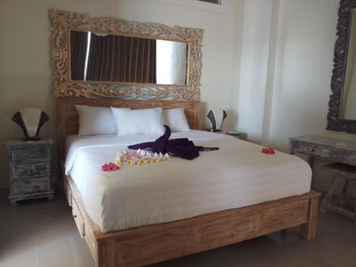 Photo for Beautiful Beachront Accommodation in Amed, Deluxe Double Room