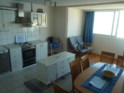 Photo for Two bedroom apartment with balcony and sea view Omiš