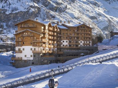 Photo for Attractive apartment in a chalet directly on the ski slope