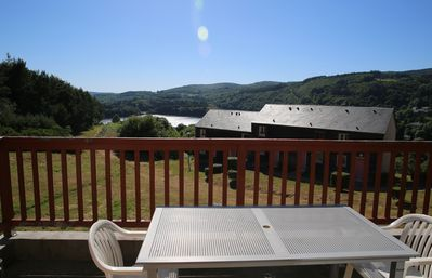 Photo for Week-end and week-end rental with swimming pool, overlooking Raviège lake