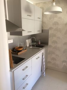 Photo for T2 recently redone, 5 mins from the port and 15 mins from the beaches, with private parking
