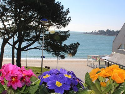 Photo for Splendid sea view apartment 30m from the beach BENODET