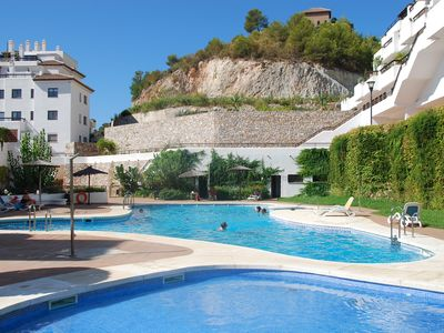 Photo for Beautiful apartment with amazing  views to the sea near Nerja