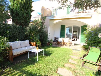 Photo for Wide house with A/C, WIFI, a garden and a 12m x 2,10m mooring