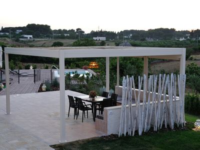Photo for Trullo villa with private pool in the quiet of the Apulian countryside
