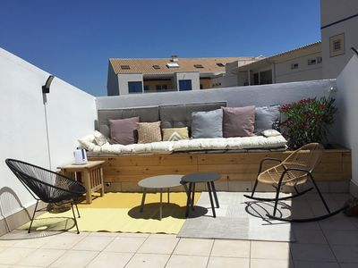 Photo for Beautiful 30m2 studio with roof terrace