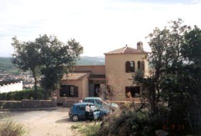 Photo for Detached villa with stunning views to the sea and hills