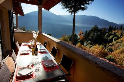 A table with a view please.
