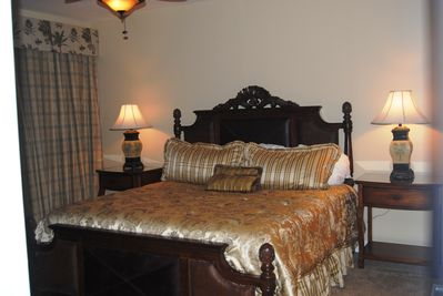 Master Suite has beautiful gulf view and its own access to the large balcony.
