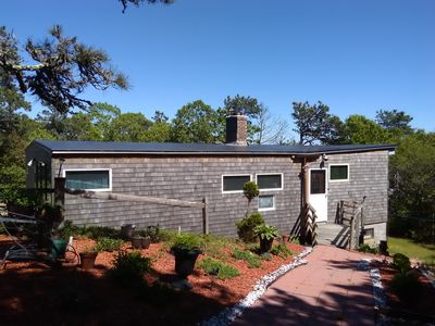 Photo for TRURO SUMMER HOUSE. Short drive to beaches or Provincetown. Quiet and private.