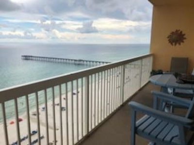 Photo for Gulf front Condo with Great View from the Master Brm, Living Area and Balcony