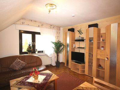 Photo for Cozy apartment (80sqm) with playground and close to the ski area