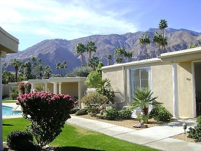 Photo for Mid-Century goes Hollywood!! King Bed, 2 Bathrooms/Walk to Town, Shops & Dining