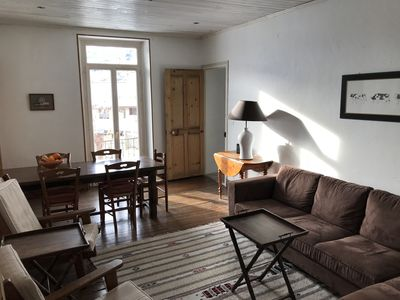 Photo for Charming apartment with garden in the center of Briançon