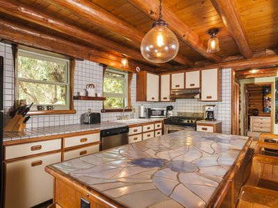 Photo for PERMITTED Charming LOG HOUSE in REAL Upcountry Maui. Magical and Peaceful!