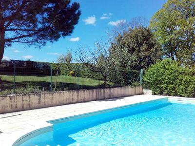 Photo for 3 bedroom Villa, sleeps 6 in Brégegere with Pool and WiFi