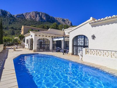 Photo for Lleus Villa, Sleeps 8 with Pool