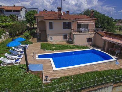 Photo for Holiday home with private pool and outdoor kitchen, beach Lanterna at 10 km