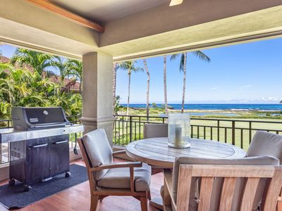 Photo for Hualalai Golf Villa 4202 - steps to Resort~Ocean Front~room service available