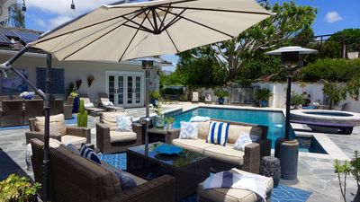 Photo for Resort Pool, In/Out Liv, Mins to Beach, Golf & Hills Views, Exclusive Quiet Area