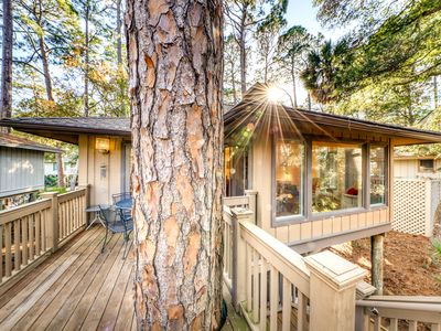 Photo for Beautiful home in the woods w/updated amenities & shared pool