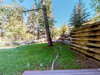 Photo for Ground floor home w/shared pool & hot tub/balcony - close to lifts & downtown!