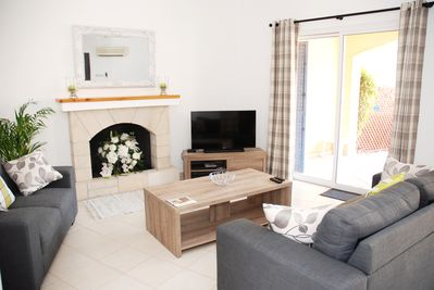 Main Living Area - Double Patio Doors access to the fully enclosed garden.