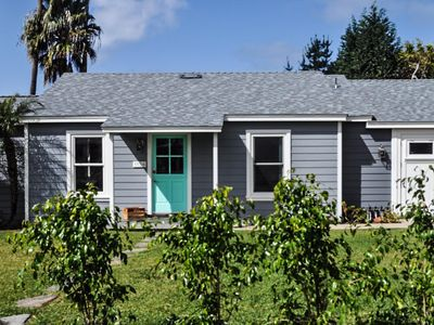 Photo for Breezy! Fresh. Fun. Charming kitchenette, open beam ceilings, and sunsets