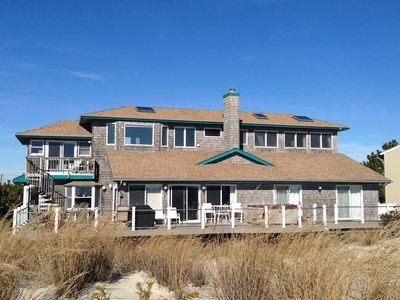 Photo for Majestic Oceanfront - Nestled on the Highest Dune in Surf City