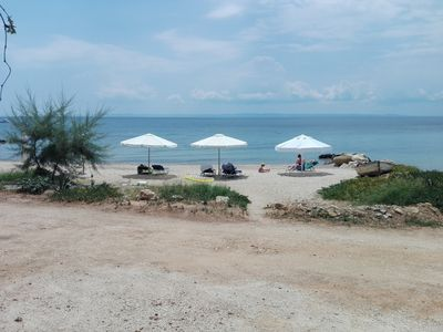 Photo for Apartment for 2-3 people on the beach of Nikiti Halkidiki