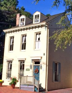 Historic home across from St. John's College, less than a 5 minute walk to the Academy. This four bedroom , two and a half bathroom home has sleeping for eight