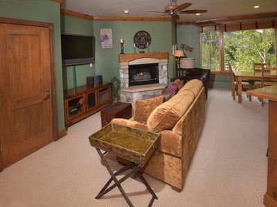 Photo for Cozy Alpine Studio - Ski-in/Ski-out next to Bc Golf