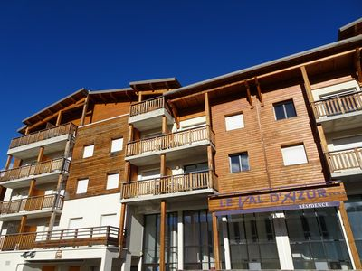 Photo for Apartment overlooking the slopes, 4 people, 36m2, 100m from the slopes