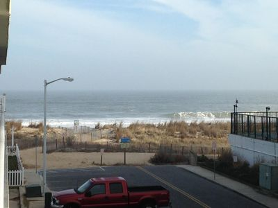 Beautiful Ocean View.  Can you smell the salt air?